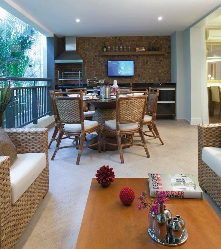 72+ Varandas gourmet decoradas em apartamentos