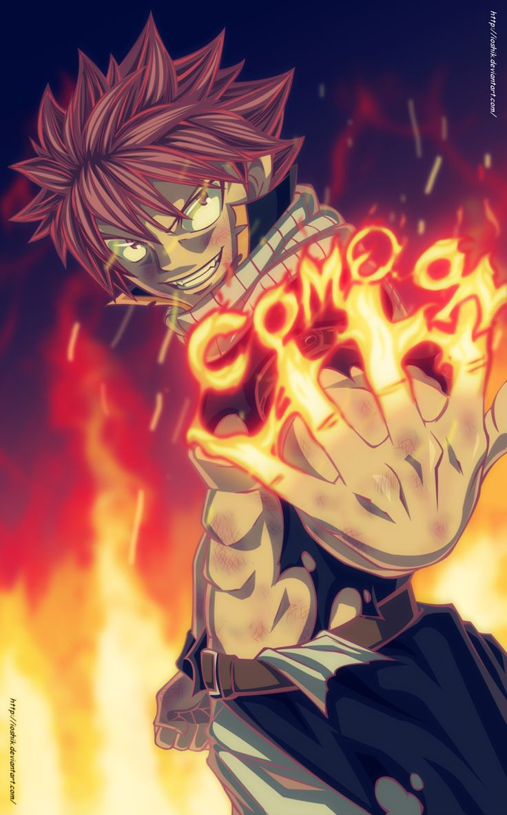 Fairy tail natsu dragneel strongest anime characters - Image manga fairy tail ...