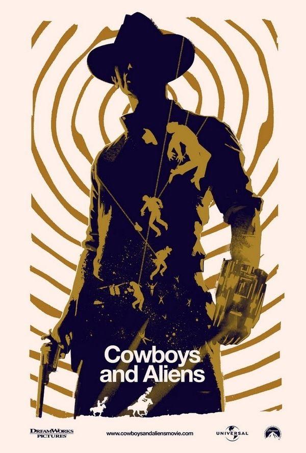 Han Solo + James Bond = Cowboys & Aliens.
