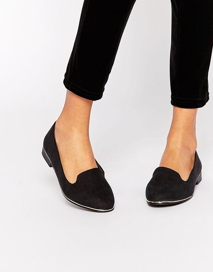 New Look Wide Fit Slip On Shoe