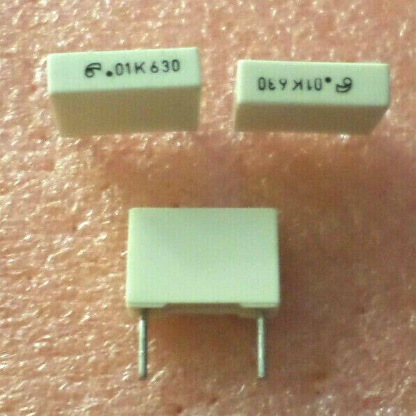 Qty 15 01uf 630v 5 Polyester Film Capacitor C9b5 Unbranded Capacitors Ebay Film