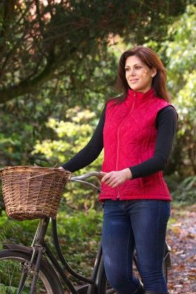 Cashel gilet red