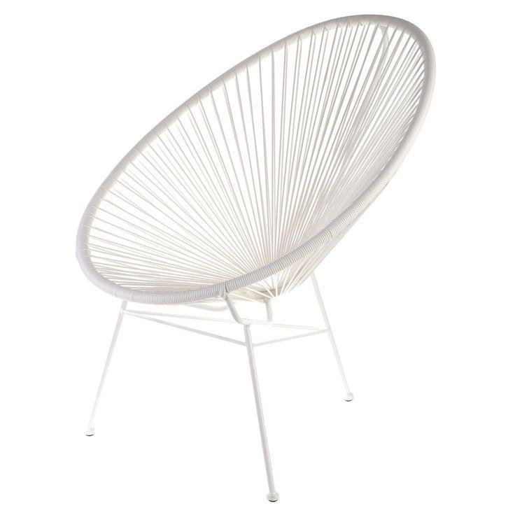 Waan jezelf in het zonnige Mexico met de Acapulco stoel van La Chaise Longue!
