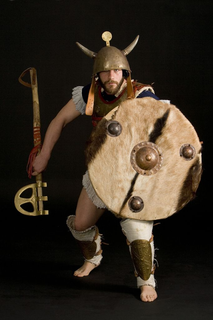 Reconstruction by Hellenicarmors, of a Sea- People warrior's armour and weapons.  The cuirass is based on depiction from Medinet Habu, Mortuary Temple of Ramesses III, Luxor. Heavy, Epsilon-type axe and grieves are based on various Mycaenean artifacts of Greek Archeological Museums.