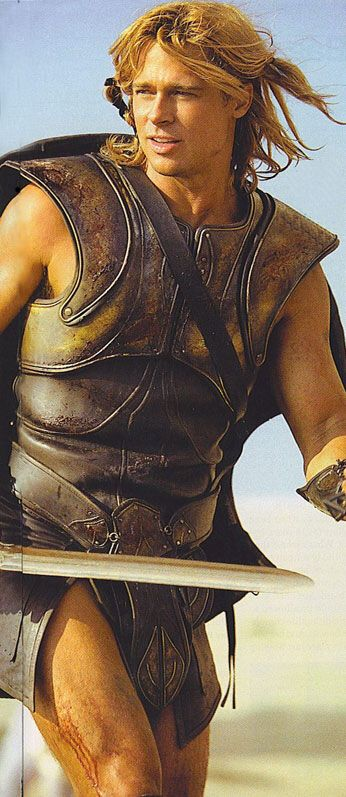 Brad Pitt in Troy                                                       …