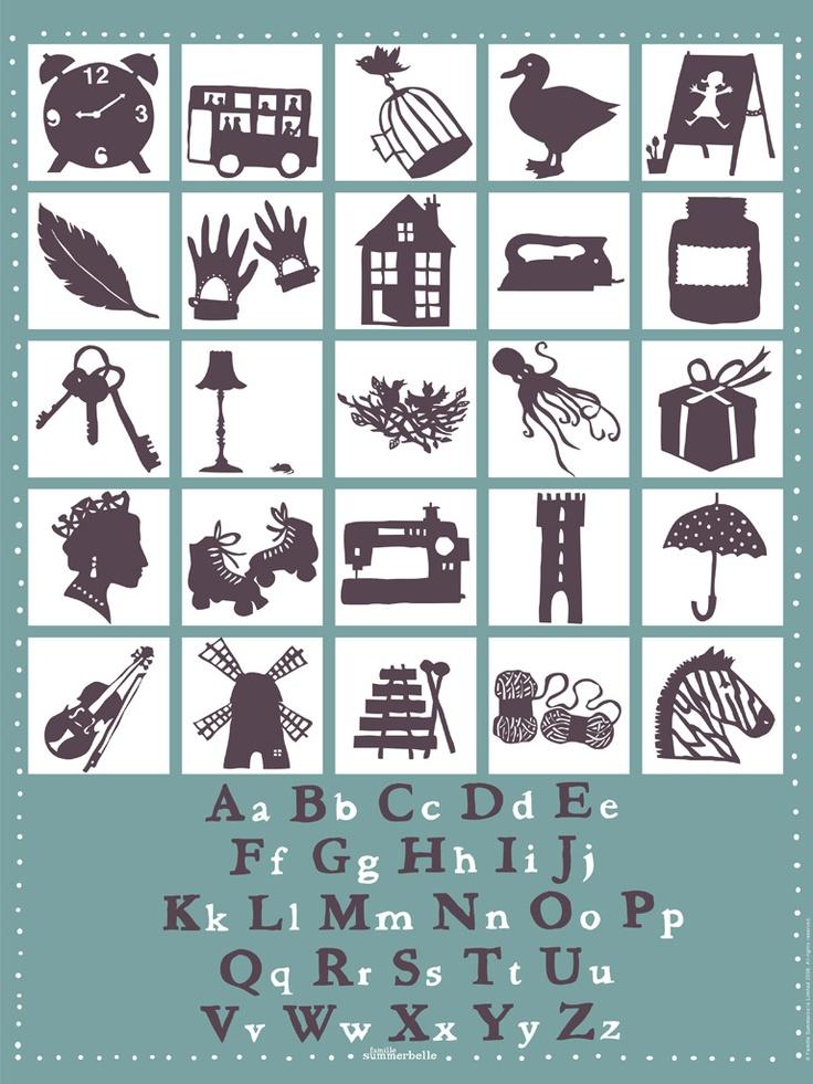 Best Alphabets Images On   Alphabetical Order Fonts