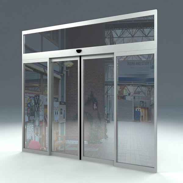I Love The Modern Look Of These Automatic Doors The Store I Work For Is Planning On Installing Some Autom Automatic Sliding Doors Sliding Doors Automatic Door