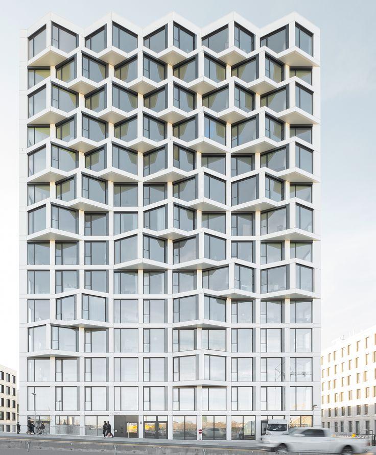 Munich: Two new high-rise buildings from Allmann Sattler Wappen.   STYLEPARK