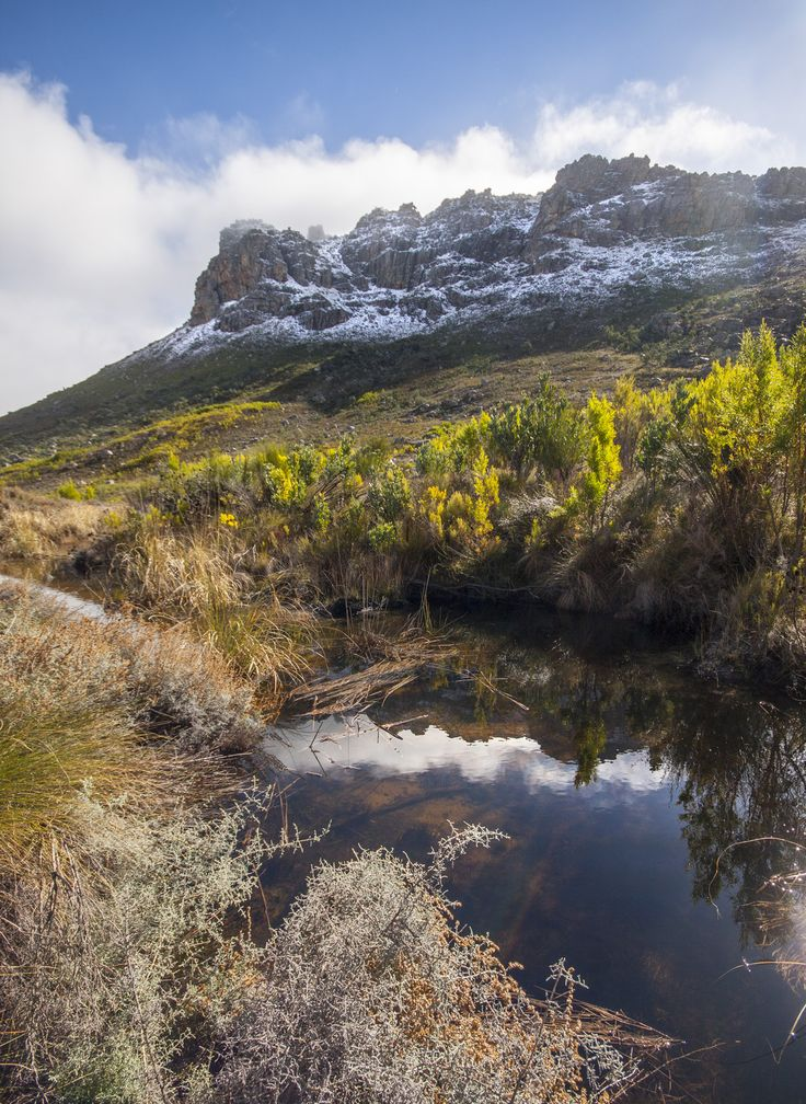 Chasing Snow in Ceres - 6 July 2014 - Western Cape, South Africa. #snow #Ceres