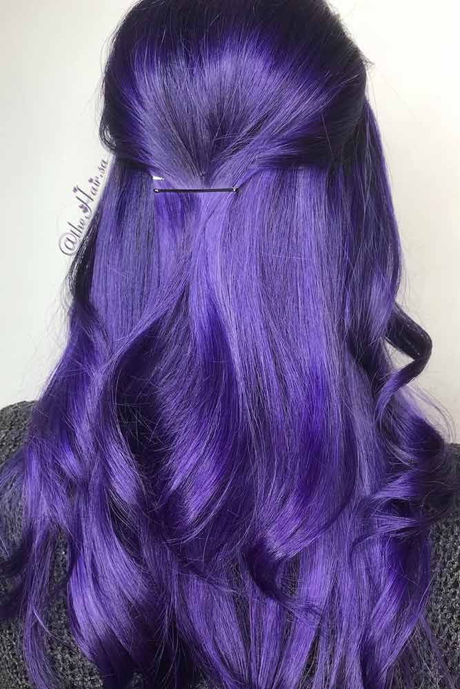 50 Cosmic Darkish Purple Hair Hues For The New Picture