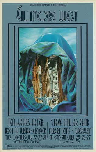 Ten Years After Ike & Tina Turner Flock Steve Miller Band Albert King