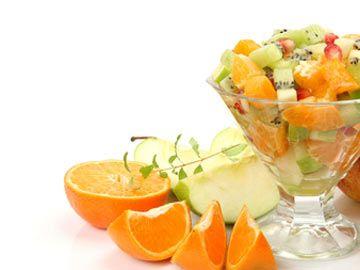 Winter Wonderland Fruit Salad