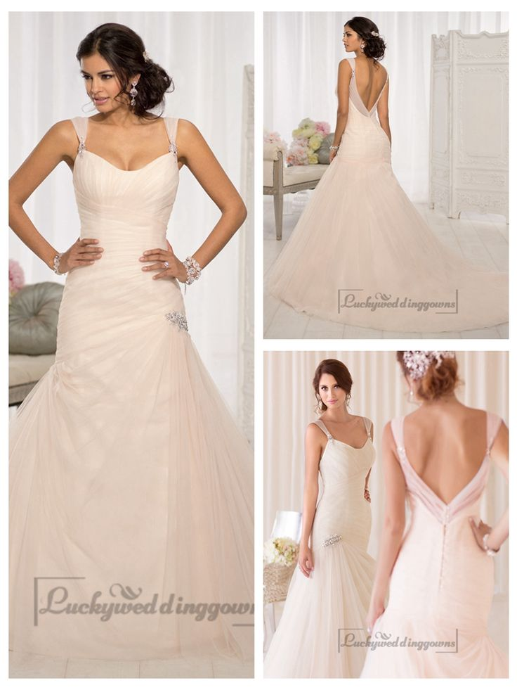 Straps Fit and Flare Sweetheart Vintage Wedding Dresses http://www.ckdress.com/straps-fit-and-flare-sweetheart-vintage-wedding-dresses-p-2002.html  #wedding #dresses #dress #Luckyweddinggown #Luckywedding #wed #clothing #gown #weddingdresses #dressesonline #dressonline #bridaldresses
