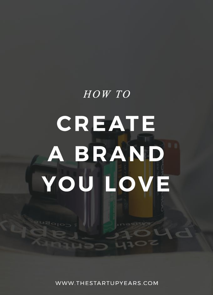 Your brand is the first thing that a customer sees. Here are 9 easy steps to help you create a brand you love and that will convert customers like crazy.
