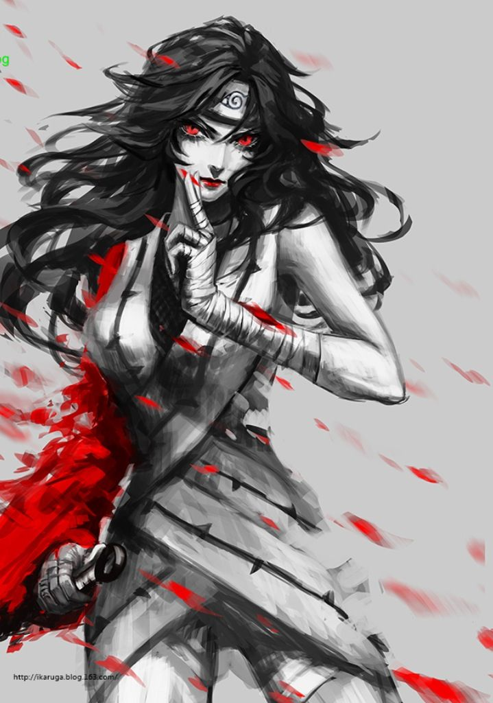 Kurenai fan art #naruto                                                                                                                                                                                 Más