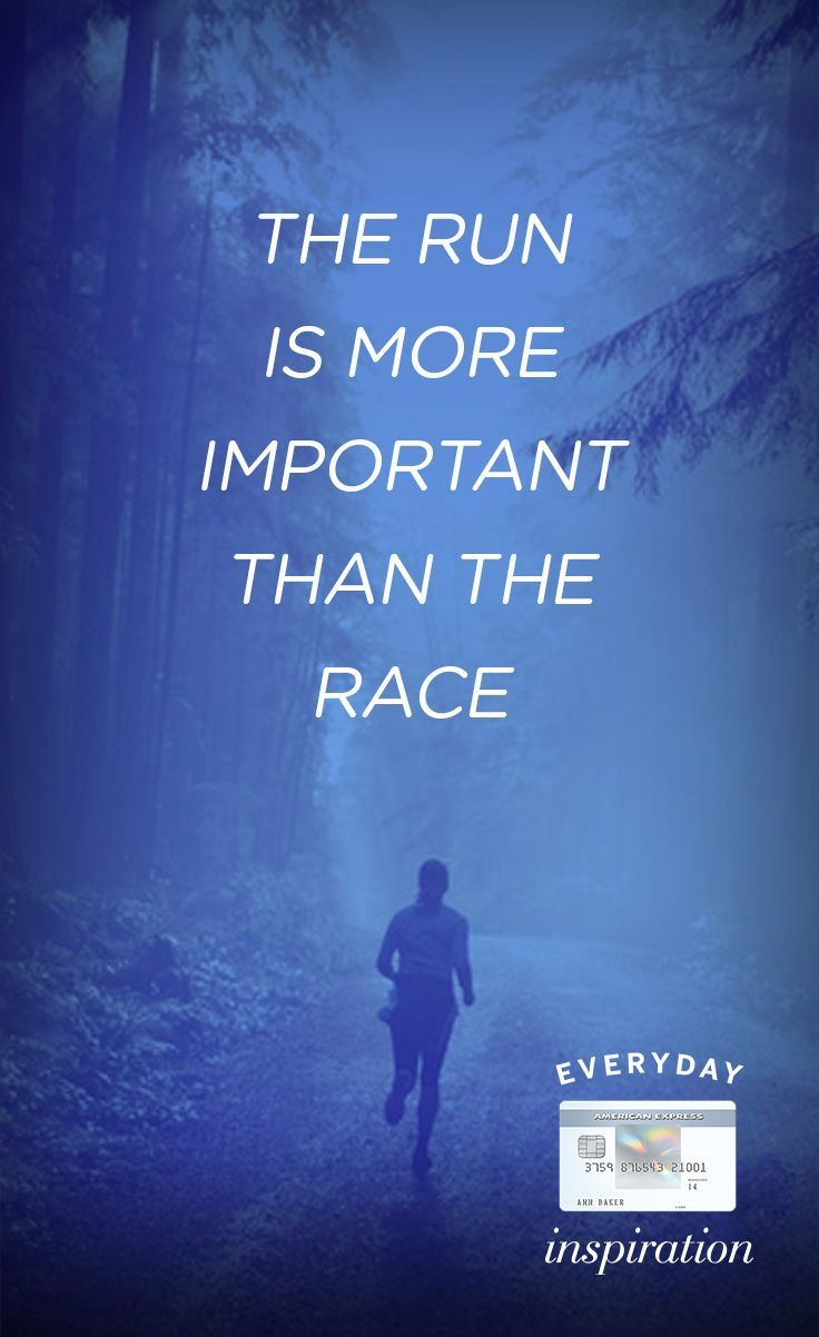 The Run...