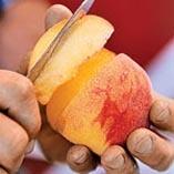 Frozen Strawberry-Peach Pops | Recipe