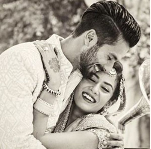 These adorable pictures of Shahid Kapoor and Mira Rajput