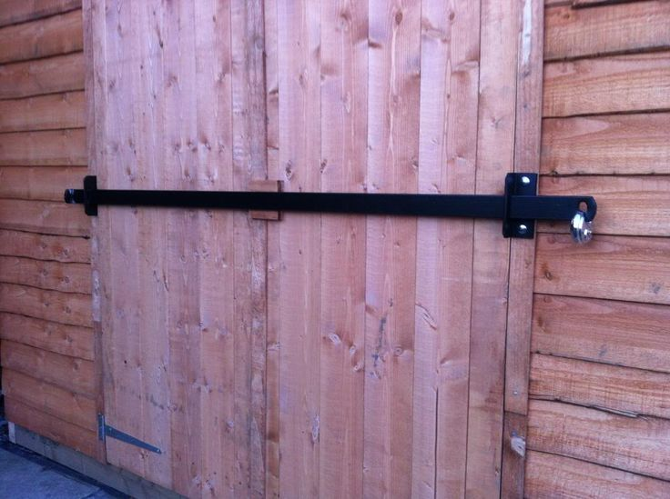 Shed Double Door Security Other Shed Security Brackets
