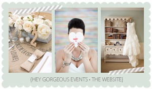 """hey gorgeous"" blog.  absolutely love the colors for jsp branding makeover.  gray, soft-white, taupey-blush."