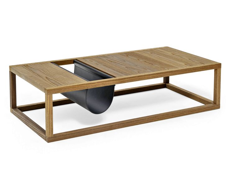 RECTANGULAR SOLID WOOD COFFEE TABLE DORSODURO COLLECTION BY VARASCHIN   DESIGN CALVI BRAMBILLA