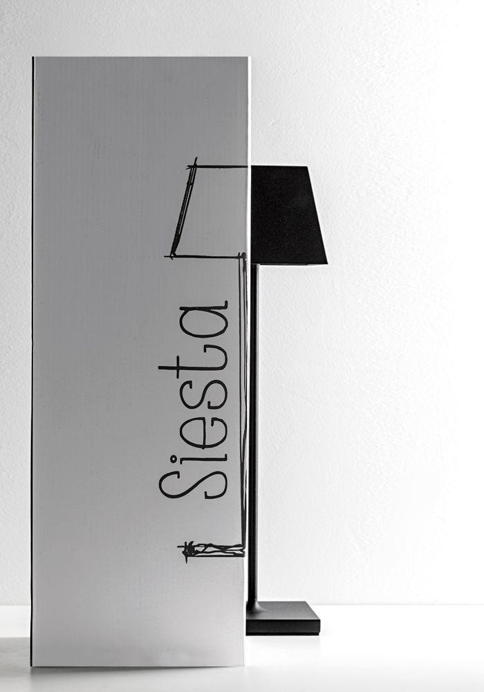 Lampada da tavolo a LED (2700K), portatile e ricaricabile