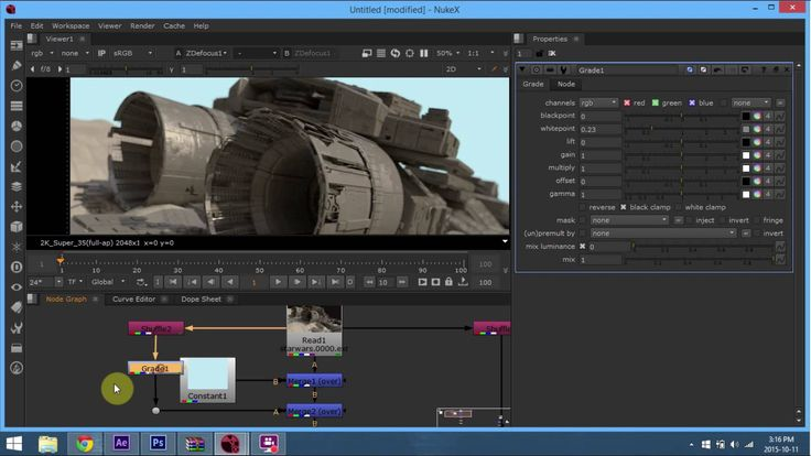 Nuke zdepth and multipass compositing tutorial