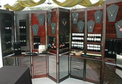 shutter jewelry display