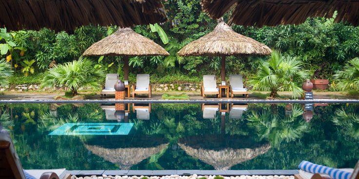 #2 - Hue, Vietnam. Lounging on the beach for a honeymoon is nothing to sneeze at, but the newlyweds who want something different should try staying at one of these luxury hotels in an these unusual honeymoon locations. Pictured: Pilgrimage Village in Hue, Vietnam