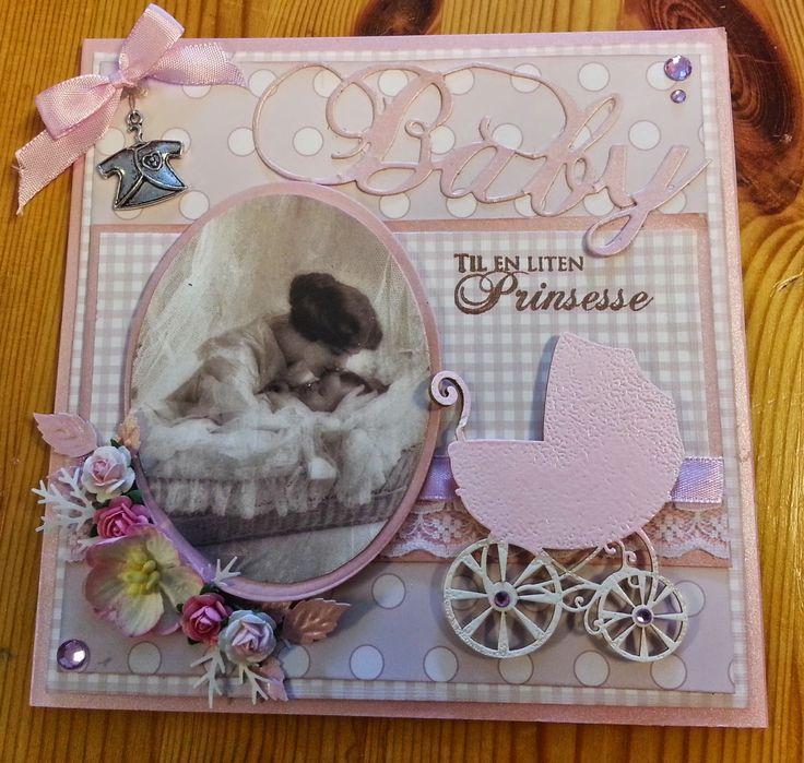 Kreativ Glede - Scrapglede: Baby kort
