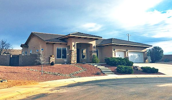 4/8/17. Gorgeous custom 4BR/2BA w/2 living spaces. Kitchen has granite, large island & walk-in pantry. Pebble-Tech pool, outdoor kitchen, pizza oven, 2 pergolas, studio/play house. Master suite has see-through FP. 3CG, panoramic mtn views. $432,900. Call Kelly Blue, 520-678-3502, or email kelly.blue09@gmail.com. ERA Four Feathers Realty. Direct MLS link at www.AZrealestatepress.com. Get more info on page 41 of the current REP.