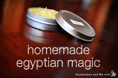 The resulting balm is thick and creamy. It's not at all sticky from the honey, and sinks in beautifully, leaving the skin soft and supple. It's a great natural treatment for small cuts and blemishes, and it makes a tasty and effective lip balm.