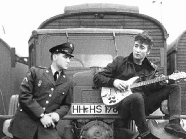 Elvis and John first played together in Hamberg Germany in the early 60s