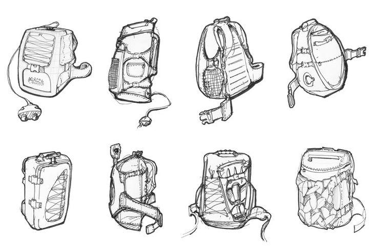 знаю чертежи рюкзака фото оригинальные рюкзаки это