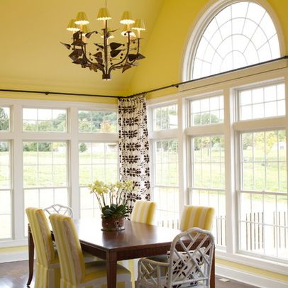17 Best ideas about Sunroom Curtains on Pinterest | Corner curtain ...