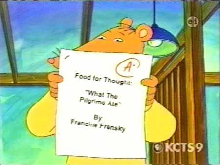Arthur- Francine;s Pilfered papers