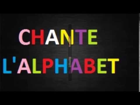 Chanson  comptine l'alphabet, Chante l'alphabet d'Eléa Zalé ,French alph...