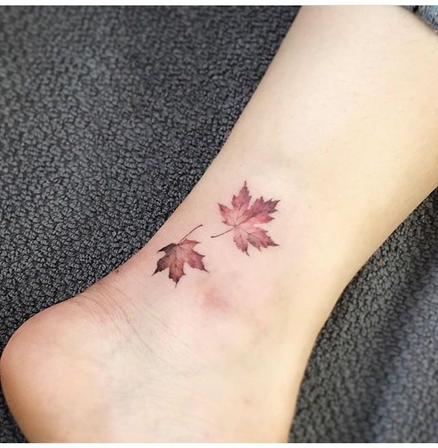 Autumn leaves tattoo                                                       …