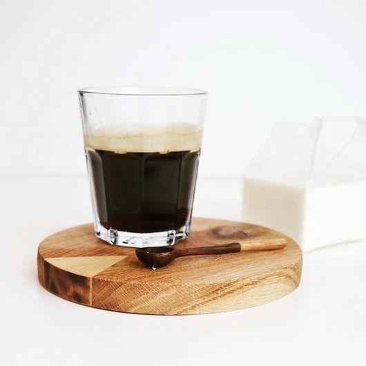 COFFEE SET podstawka z łyżeczką