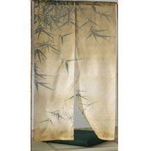 Natural Bamboo Noren Curtain