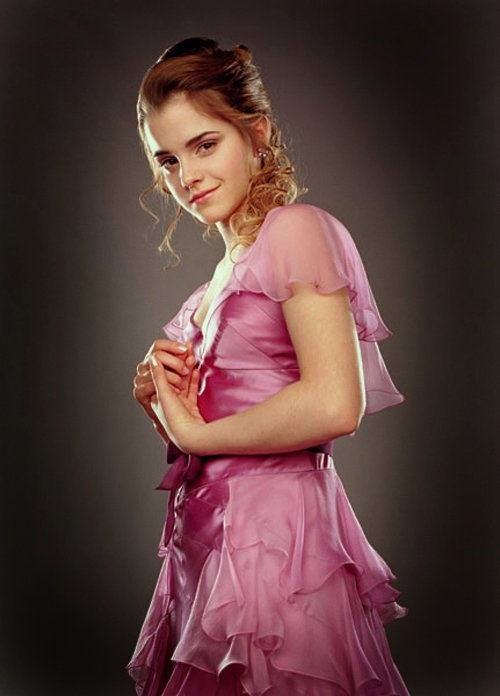 Hermione Granger Ball Gown Costume & Hermione Granger Yule Ball Gown ...