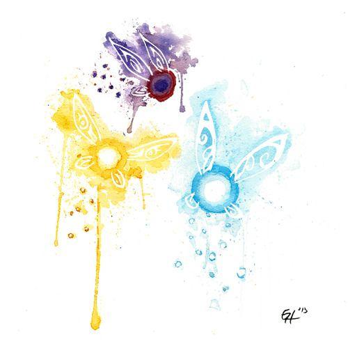 Watercolor Navi :3