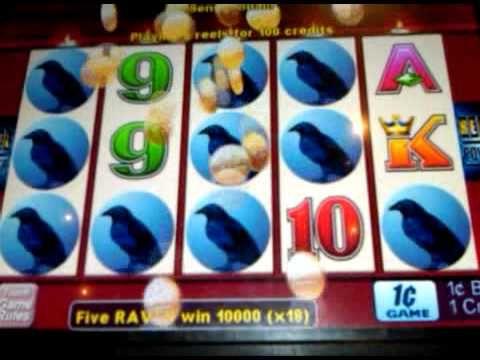 Wicked Winnings Ii Big Win Lots Of Ravens Casinos And