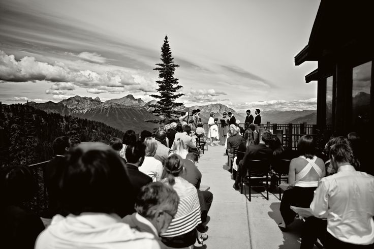 #wedding at Lost Boys Cafe at #Fernie Alpine Resort. Photo by 68photography.com