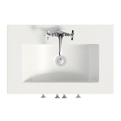 The Bath Co. Camberley satin grey vanity unit with basin 600mm