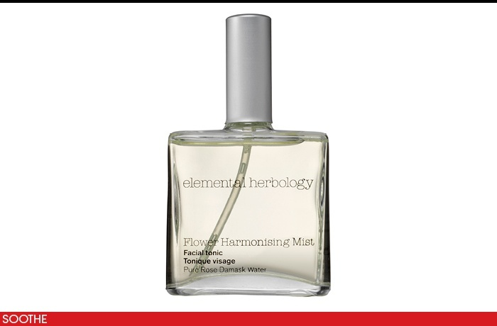 In this sweltering #heat, you know the one that makes parts of your body that normally don't sweat, sweat!  We love this hydrating mist which was featured on #Vogue.com Elemental Herbology Flower Harmonising Mist, $31; spacenk.com