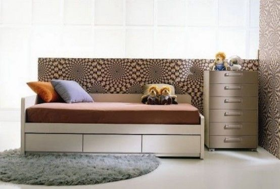 13 Cool Kids Bedrooms - Letti Singoli Collection from Di Liddo & Perego