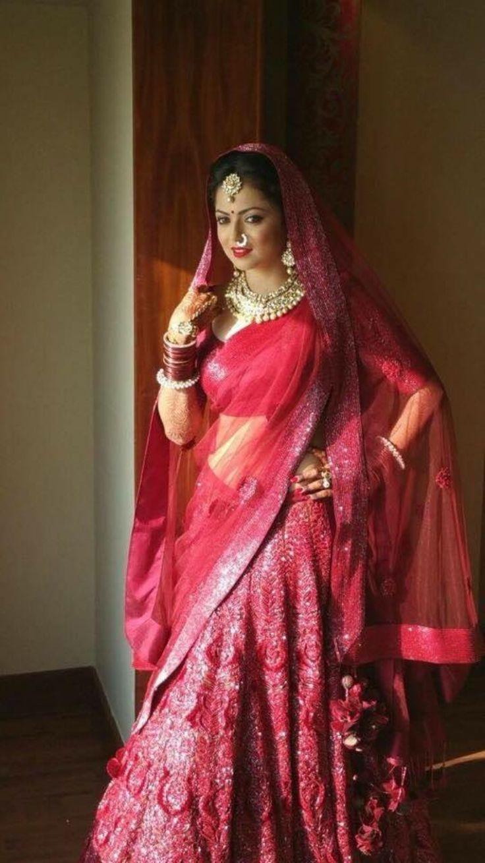 Drashti Dhami Wedding outfit