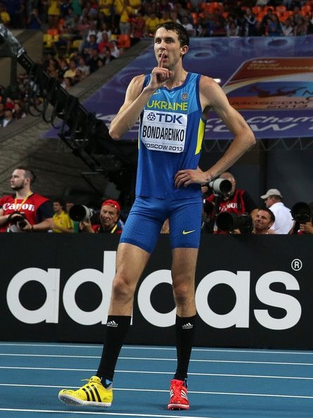 Bohdan Bondarenko - Ukrainian high-jumper.