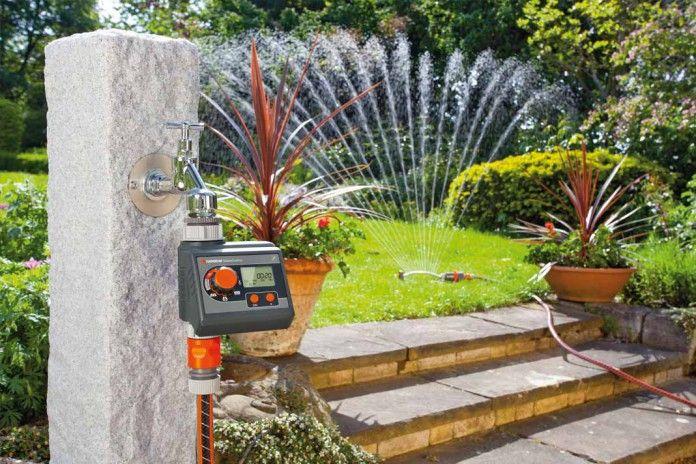 Garten-Bewässerung. Smarter gießen. Foto: Gardena